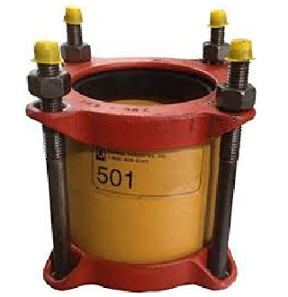 ROMAC Sewer Straight & Transition Couplings