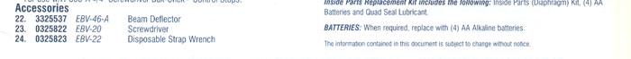 Optima Plus battery powered flushometer